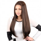Janet Collection Human Hair Blend Wig Encore Classic