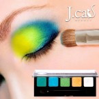 J.CAT BEAUTY Fab Five Eye Shadow Palette