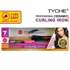Nicka K New York Tyche Ceramic Professional Curling Iron Dual Voltage (110V & 220V)