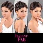 Instant Fab Remi Human Hair Wig Finger Wave (FAB S4101)