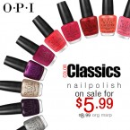 OPI Classic Nail Lacquer Collection