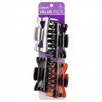 Conair Value Pack Jaw Clips 4Pcs