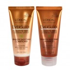 L'OREAL Eversleek Sulfate-Free Reparative Smoothing Shampoo,Conditioner 2oz
