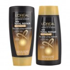 L'OREAL Total Repair Extreme Reconstructing Shampoo,Conditioner 1.7oz