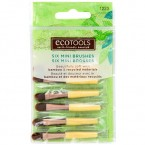 ECOTOOLS 6 Mini Bamboo Brushes