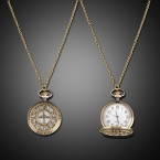 Vintage Style Watch Necklace