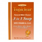 Topiclear Natural Skin Cleanser 3 in 1 Soap 4.5oz