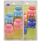 Goody  2 Colors Claw Clips 4Pcs