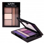 NYX Love in Florence 5 Color Shadow Palette