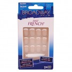 Broadway Fast French Nail Kit Real Short Length