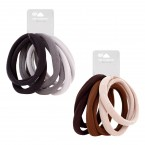 Large Hair Ties Ponytail Holders 6Pcs