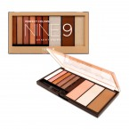 NICKA K New York Perfect Colors Nine 9 Eyeshadow Palette