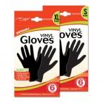 Disposable Vinyl Gloves 6 Gloves