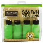 ECOTOOLS Recycled Travel Bottles 4Pcs