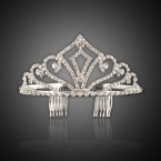 Small Crown Rhinestone Tiara Headband