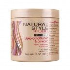 Natural Style by FUBU Deep Conditioner & Co-wash 12oz