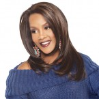 Vivica Fox Synthetic Lace Front Wig Air Capless AC-Cheryl (Celine-V Style)