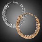 Multi-Layer Chain Bracelet