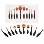 Pro Blending Makeup Brush 10pcs Set