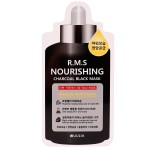 JULIA R.M.S Nourishing Charcoal Black Mask