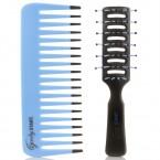 GOODY Vent Brush & Detangling Comb 2Pcs