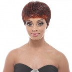 Janet Collection Synthetic Hair Wig Garnet