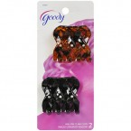 Goody Black & Brown Willow Claw Clip 2pcs