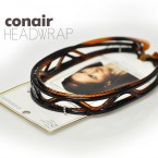 Conair Black & Brown 2 Head Wraps