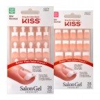 Kiss Salon Gel French 28 Nails