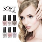 OPI Soft Shades 2015 Spring Nail Lacquer Collection