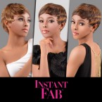 Instant Fab Remy Human Hair Wig Pixie Crop