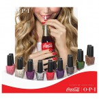 OPI Coca-Cola Nail Lacquer Collection 18Pcs Display Set