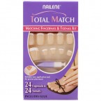 Nailene Total Matching 24 Fingernail &amp; 24 Toenail Kit
