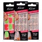 Kiss Nail Dress Fashion that Sticks for Tips & Toes 28 Strips