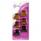 Goody Wendi Claw Clips 6Pcs