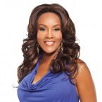 Vivica Fox Synthetic Lace Front Wig Air Capless AC-Joyce (Britney-V Style)
