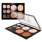 Beauty Treats Cheeky Chic Palette Eyeshadows, Highlighters & Bronzers