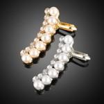 Pearl with Rhinestone Earcuff