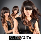 Studio Cut by Pros Synthetic Hair Wig Luscious Curve Cut