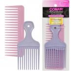 Conair Styling Essentials 2Pcs Comb & Pick Set