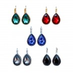 Gemston Lever Back Drop Earrings
