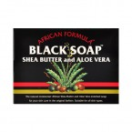 African Formula African Formula Black Soap Shea Butter And Aloe Vera 3.5oz