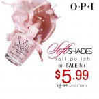 OPI Soft Shades Nail Lacquer Collection