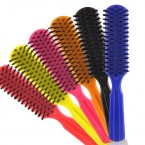 Gabriella Mixed Color Plastic Brush