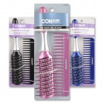 Conair Styling Essentials Brush & Comb Set