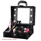 Makeup Artist Train Case with Lights