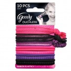 Goody Ouchless Mixed Elastics 10Pcs