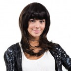 Anytime Human Hair Clip-On Bob Bang II