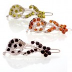 Lily Rhinestones Hairpin-Choose Your Color!