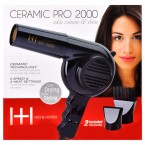 HOT & HOTTER Ceramic Pro-2000 Dryer with Extra Piks